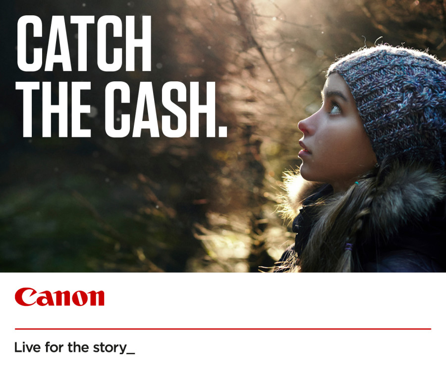 Canon Winter Cashback 2019 (Abgelaufen)
