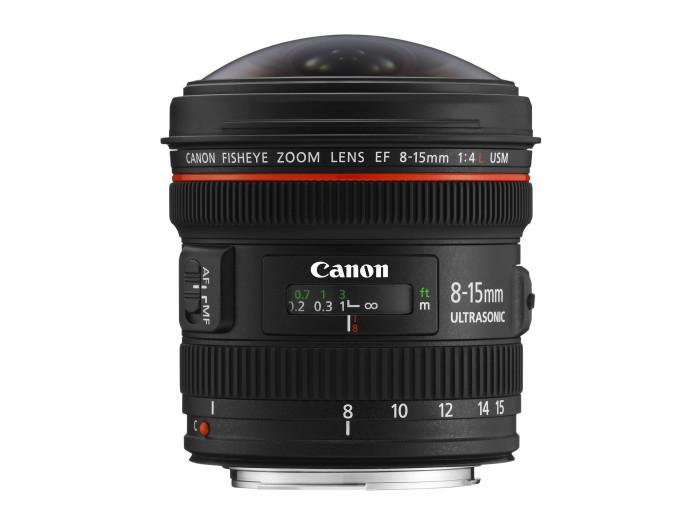 Canon EF 8-15/4 L USM Fisheye
