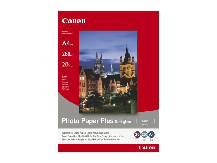 Papier SG 201 A4 semi glossy PHOTO