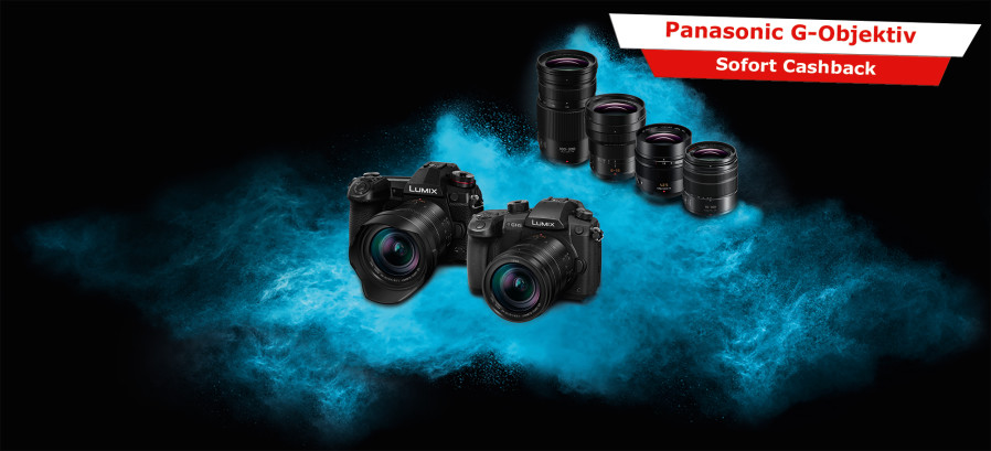 Panasonic Lumix G Objektiv Cashback