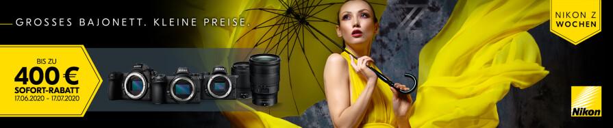 Nikon Sommer Sofort Cashback