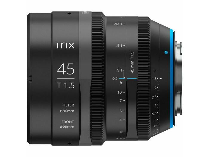 Irix Cine Lens 45mm T1.5 für MFT