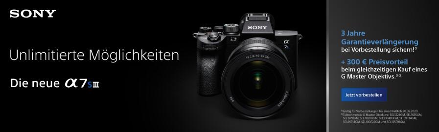 Neuheit: Sony Alpha 7S III
