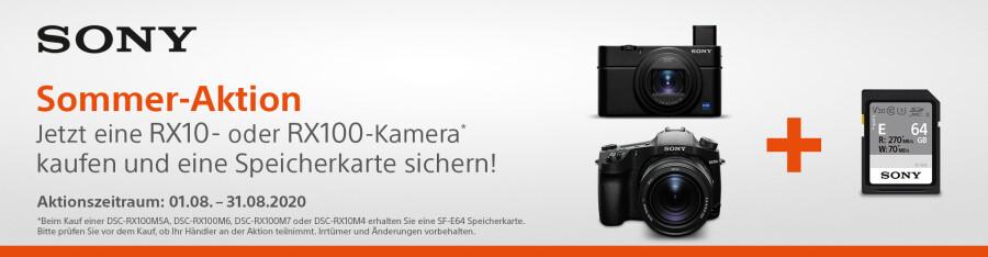 Sony Speicherkarte für RX Kameras