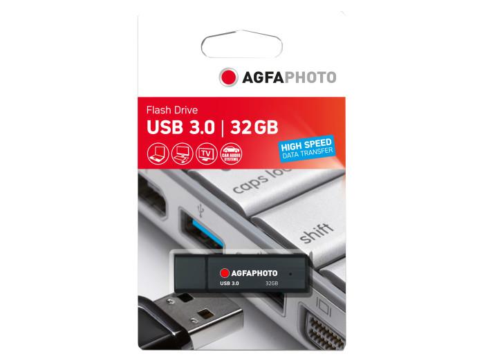 AGFA USB STICK 3.0 32GB BLACK