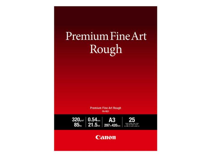 Canon FA-RG 1 Premium FineArt Rough A3 25 Blatt 320 g/m²
