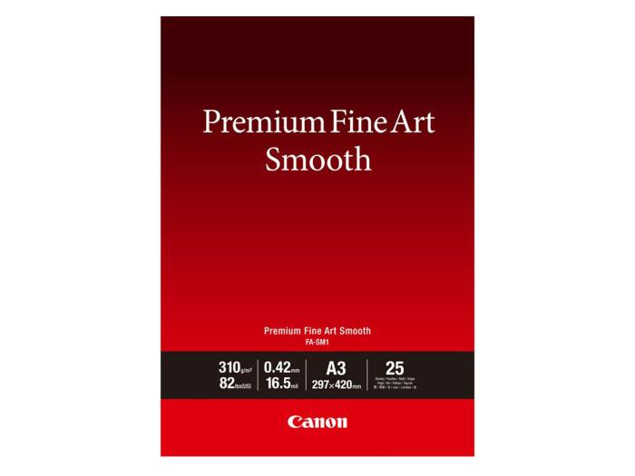 Canon FA-SM 1 Premium FineArt Smooth A3 25 Blatt 310g/m²