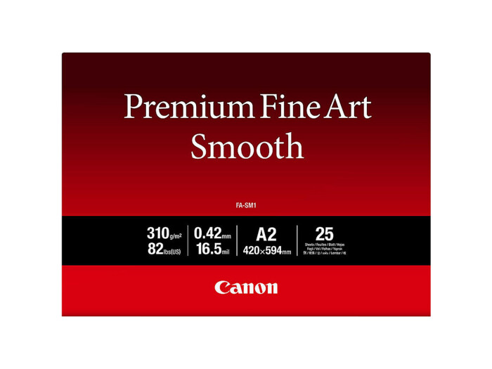 Canon FA-SM 1 Premium FineArt Smooth A2 25 Blatt 310g/m²