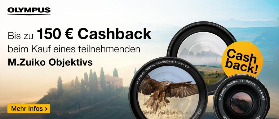 Olympus Zuiko Cashback