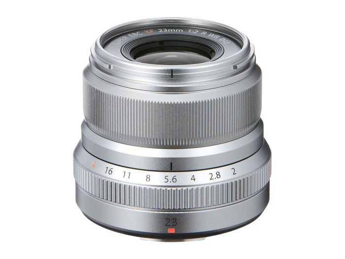 Fujifilm XF 23/2,0 R WR silber