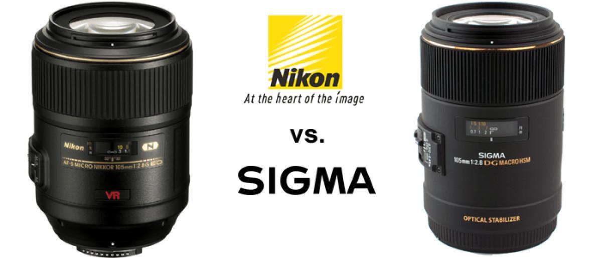 Test: Vergleich Nikon AF-S VR Micro Nikkor 105 mm/2.8G IF-ED und Sigma Makro 105mm/2,8 EX DG OS HSM