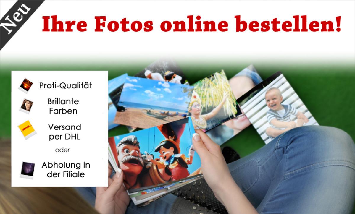 Fotoabzüge Online bestellen!
