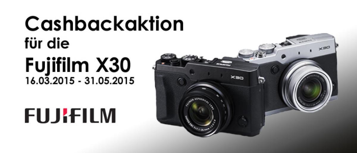 FUJIFILM Cashback-Aktion 16.03.2015 bis 31.05.2015