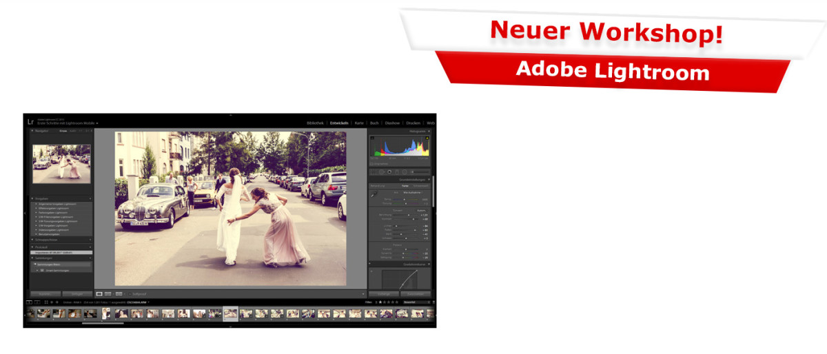 Neuer Workshop: Adobe Lightroom