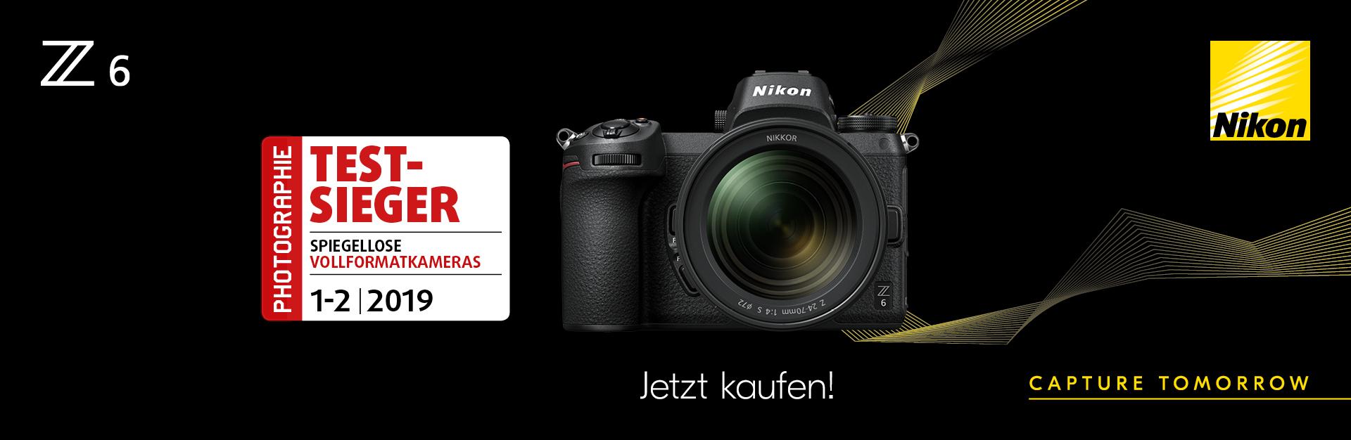 Nikon Z6 Kit 24-70/4,0 S + Objektivadapter+XQD 64GB