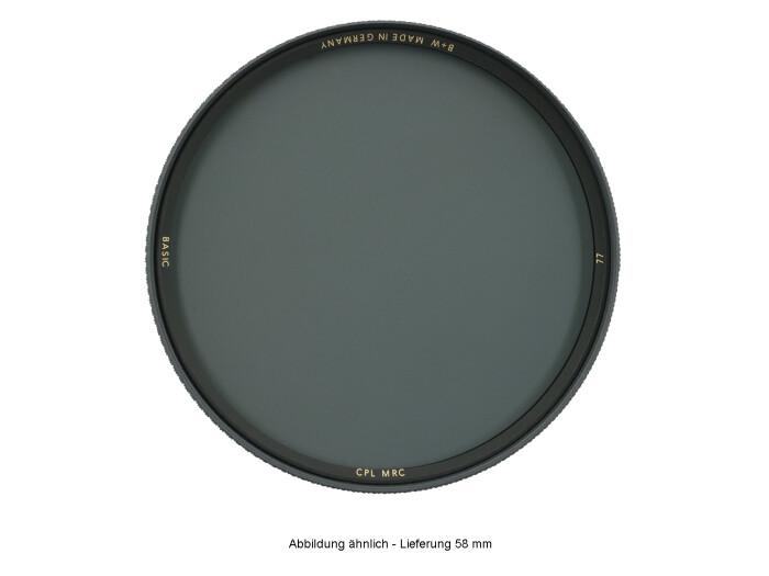 B+W BASIC Zirkular Polfilter MRC 58 mm