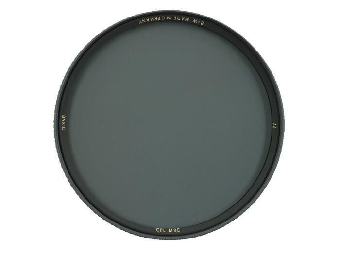 B+W BASIC Zirkular Polfilter MRC 77 mm