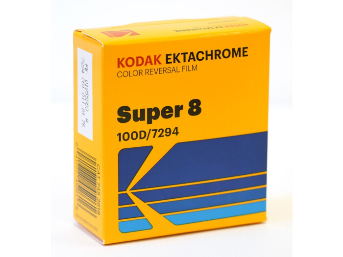 Kodak Ektachrome 100D 7294, 8 mm x 15 m Perf. 1R