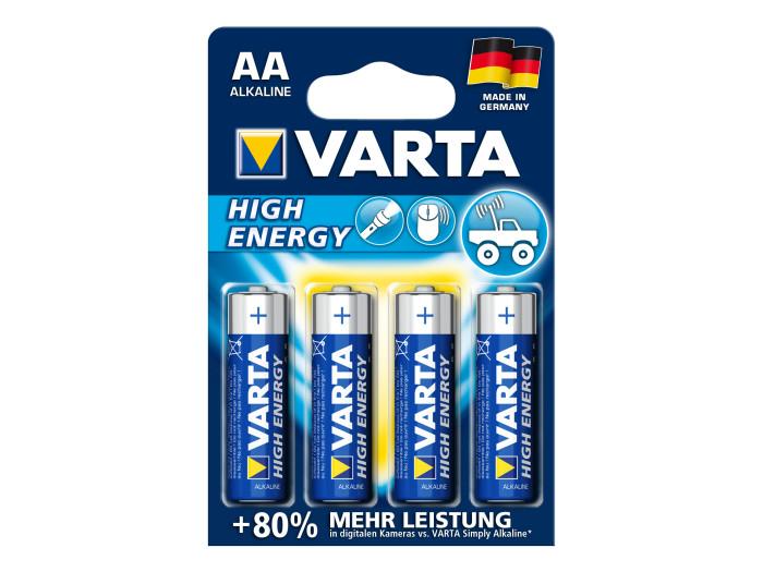 Varta Battarie HIGH ENERGY AAA 4ER