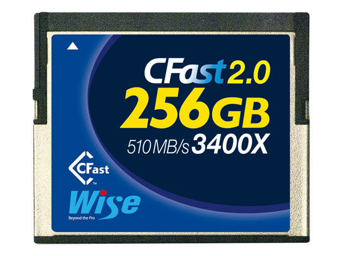 Wise CFAST 2.0 3400X BLUE 256GB