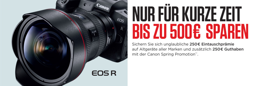 Canon EOS R - Trade In Aktion