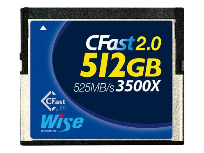 Wise CFAST 2.0 3500X BLUE 512GB