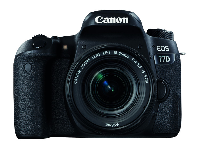 EOS 77D + EFS 18-55 IS STM