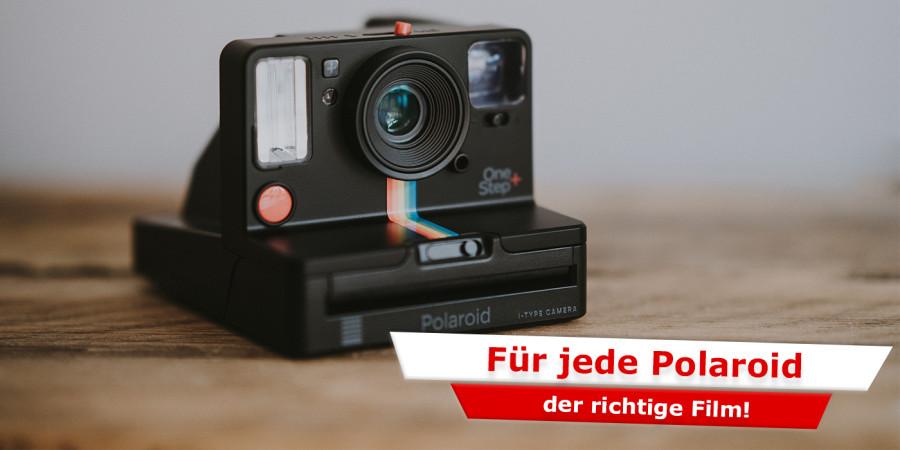 Für jede Polaroid der richtige Film