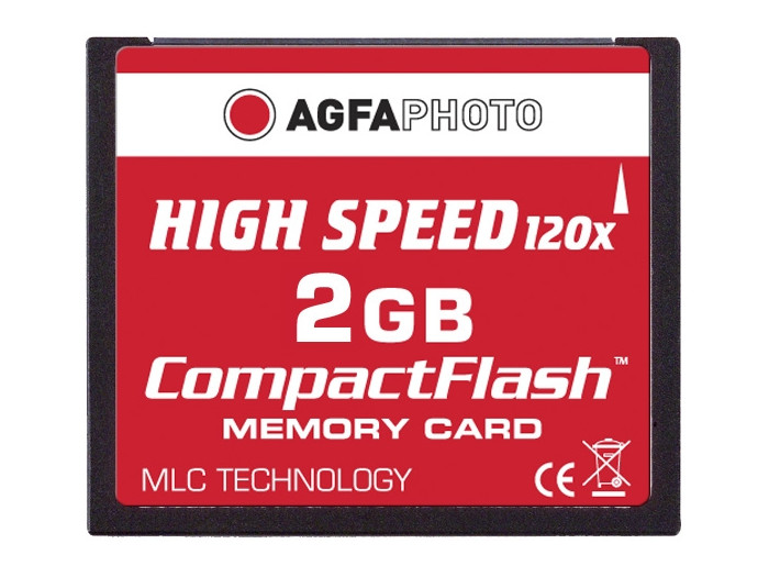 AGFA CF 2GB 120X HIGH SPEED