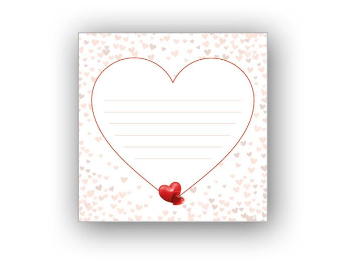 Fotoalbum Valentine 24x24 cm