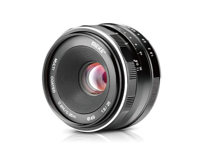 Meike F1,8/25 mm für Canon EF-M, Weitwinkel-Objektiv