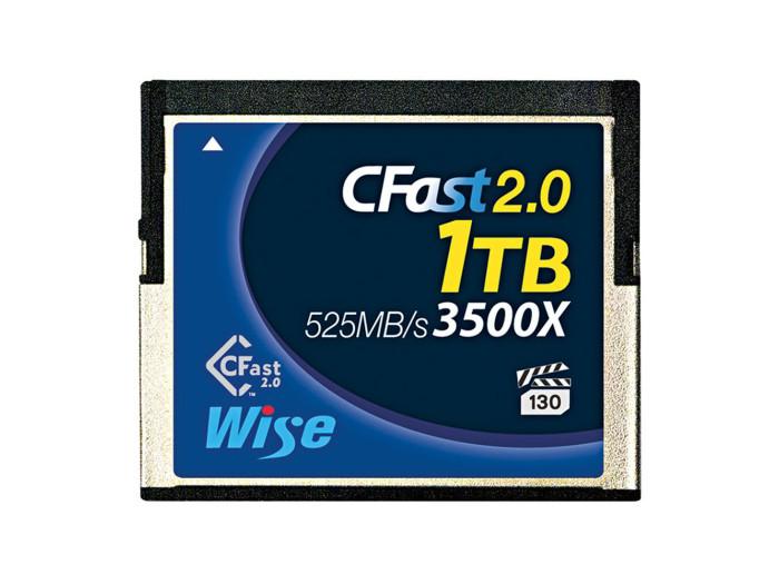 Wise CFast 2.0 Card 3500X blue 1TB Speicherkarte